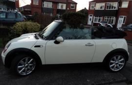 NOW SOLD mini cooper covertible 1.6