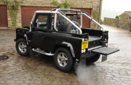 NOW SOLD LAND ROVER DEFENDER SVX