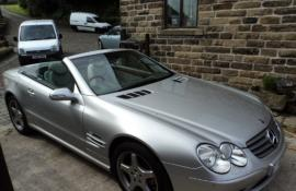MERCEDES SL 350 HIGH SPEC